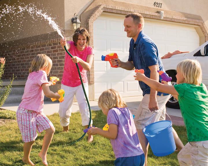 Merkmale einer glücklichen Familie